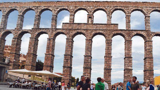 Viaje en el tiempo. El Acueducto Romano