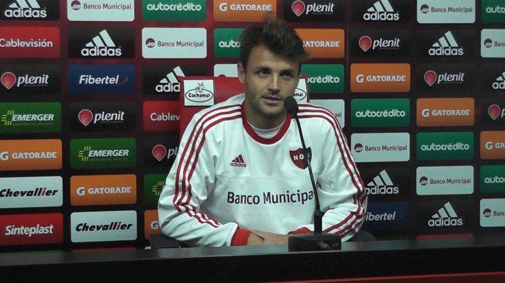 Juan Ignacio Sills firmó contrato por un año más en Newells