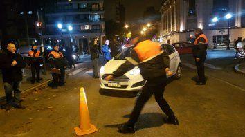 Los operativos de alcoholemia comenzaron a las 19.30 en Oroño y Salta.