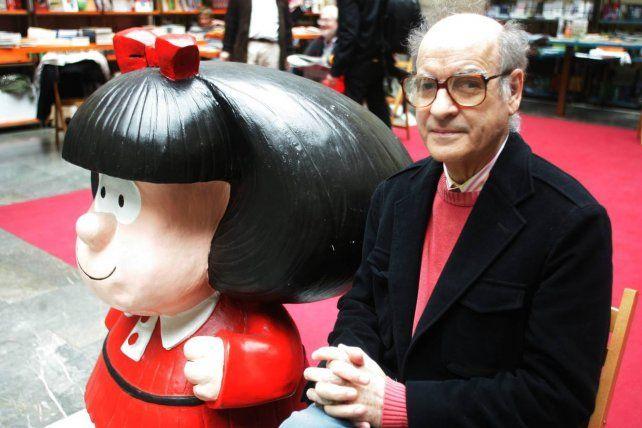 Quino pidió que no utilicen a Mafalda luciendo el pañuelo azul en contra de la legalización del aborto