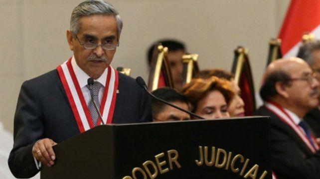 Maniobras ilícitas. Cintas en las que se escuchan a jueces negociando sentencias tumbó al presidente de las Corte Suprema Duberlí Rodríguez.