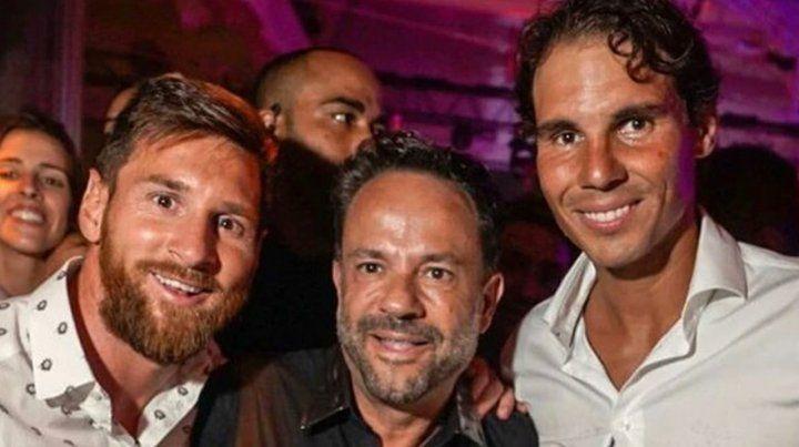 Messi y Nadal se encontraron en un cabaret de Ibiza