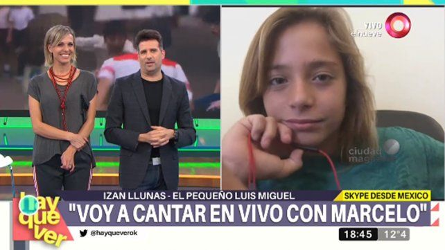 Tinelli lleva a su programa al Luis Miguel de la serie