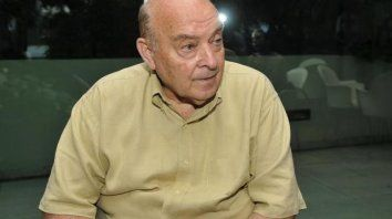El exministro Domingo Cavallo está internado en Córdoba