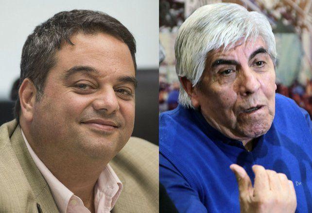 Triaca y Moyano se trenzaron duro por una multa que impusó el Ministerio de Trabajo.