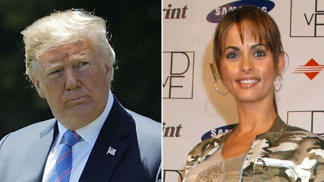 Presidente en apuros. Karen McDougal afirma haber mantenido una relación con Trump entre 2006 y 2007.