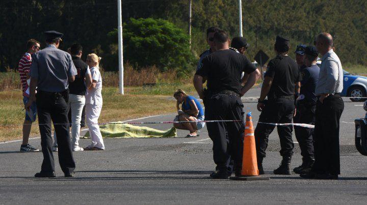 En la ruta. A Bam Bam lo mataron en febrero al salir del penal de Piñero.
