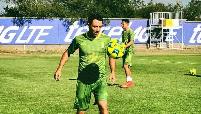 El apuntado. El defensor paraguayo Piris pasó la última temporada por León.