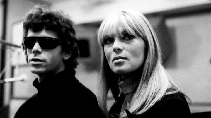 Nico junto a Lou Reed en los años 60