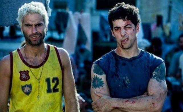 Nicolás Furtado (Diosito) y Esteban Lamothe (Patricio)