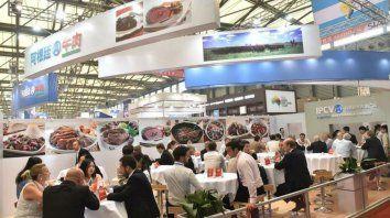 For export. La carne argentina se instaló en China tras años de presencia en ferias.
