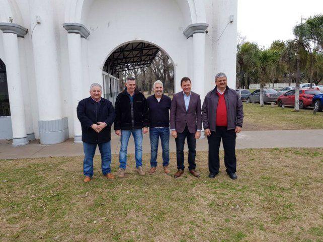 Juntos. Los mandatarios González