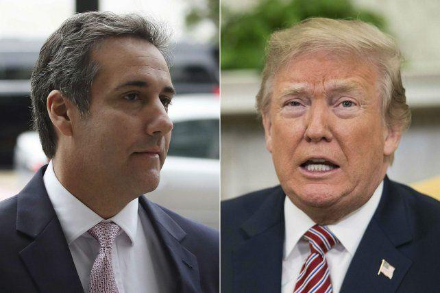 Trump calificó de totalmente inédito y quizás ilegal haber sido grabado en secreto por Cohen.