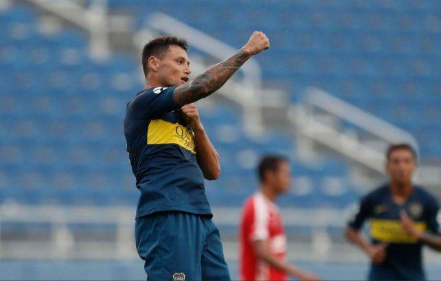 Mauro marcó el empate transitorio.
