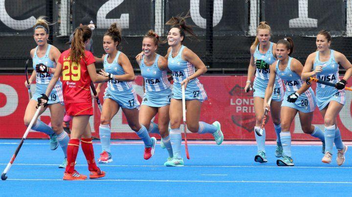 Las Leonas debutaron con una aplastante victoria en el Mundial