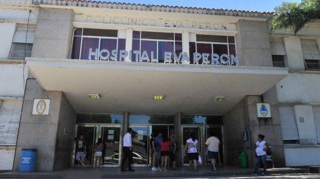 La mujer herida fue internada en terapia intensiva del Hospital Eva Perón en estado delicado y con pronóstico reservado.
