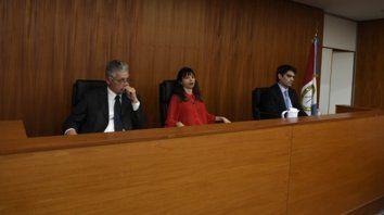 Divididos. El fallo del tribunal compuesto por los jueces Curto, Verón y Alliau no fue unánime.