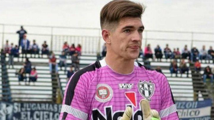 Facundo Espíndola. El ex golero de Almagro fue asesinado ayer.