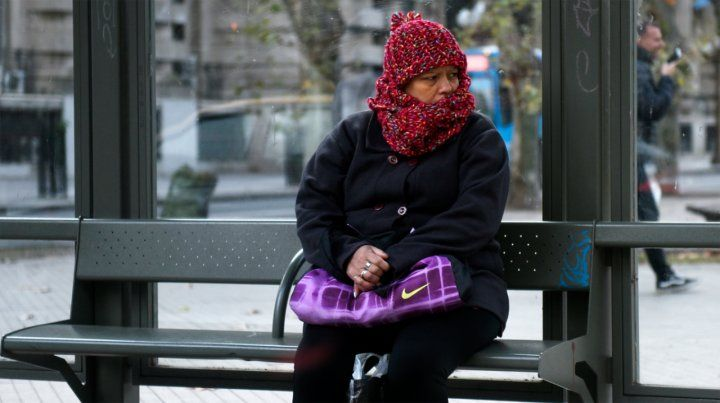 El lunes arrancó muy frío, con temperatura bajo cero