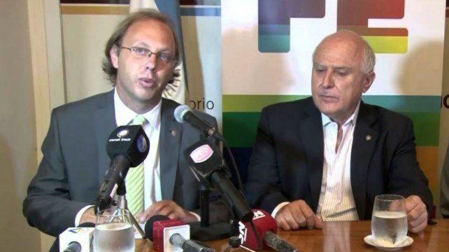 El ministro Gonzalo Saglione