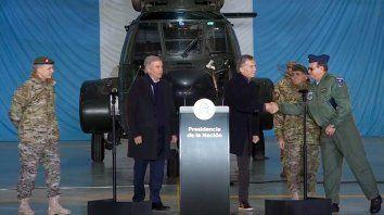 Macri propone que los militares colaboren con seguridad interior