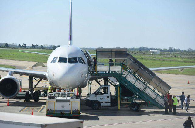 Los aviones contarán con una nueva planta de combustible en el aeropuerto Islas Malvinas.
