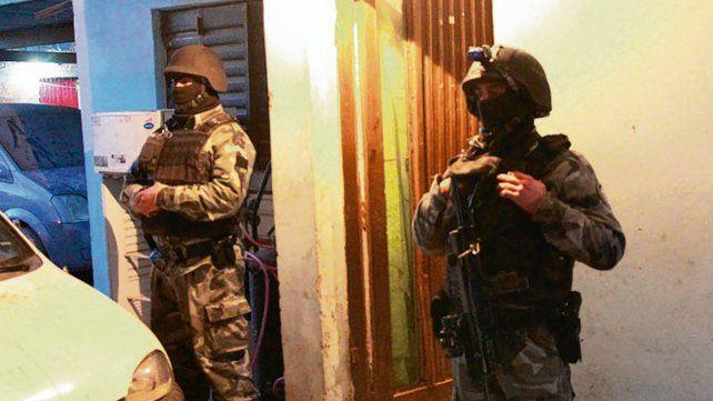 operativo. El viernes se hicieron 14 allanamientos en Bermúdez y Baigorria.