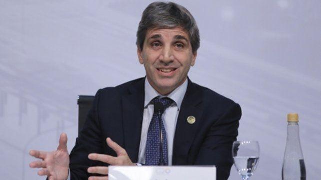 fuga. Luis Caputo
