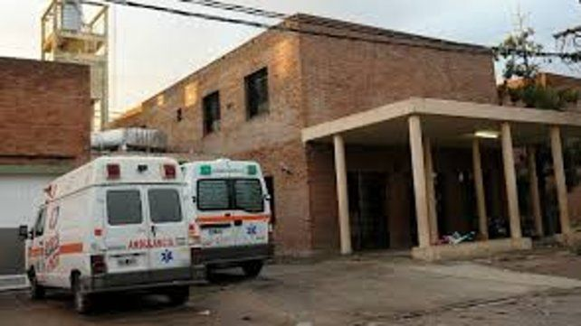 Luciano llegó en estado grave al Hospital Gamen