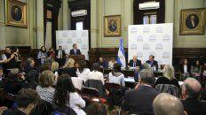 El ministro Adolfo Rubinstein expuso sus fundamentos en el debate sobre el aborto legal.