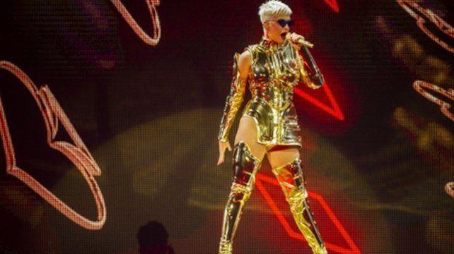 Katy Perry, una estrella dorada en Australia