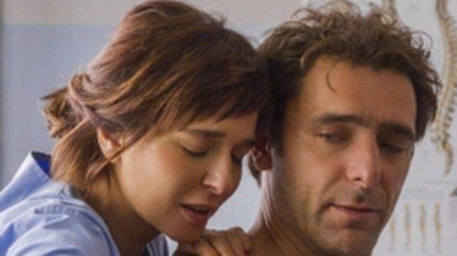 Contacto. Valeria Golino y Adriano Giannini interpretan a los personajes protagónicos del filme.