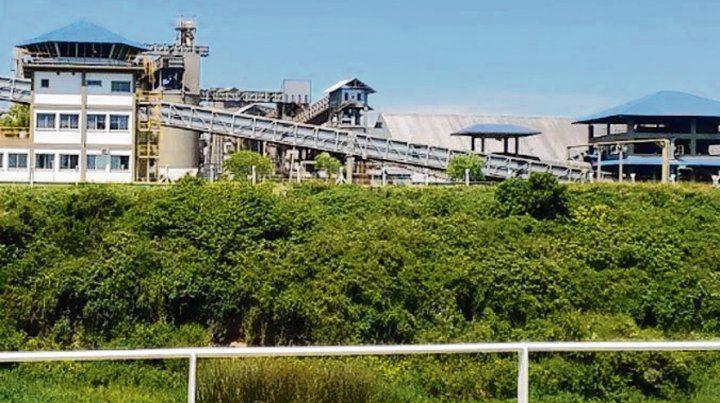 Aceite hirviendo. La planta de Bunge en la localidad de Ramallo.