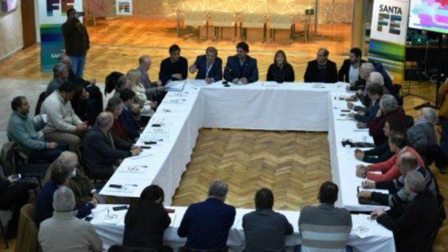 Reunión de referentes de provincias tamberas para analizar la crisis