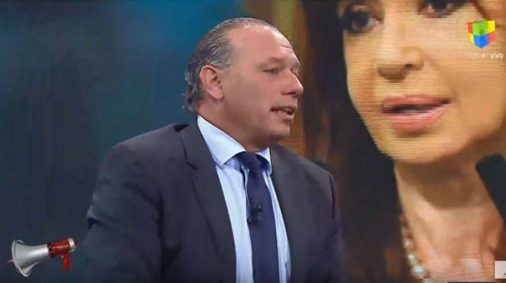 Sergio Berni dijo que Cristina no va a ser candidata en 2019
