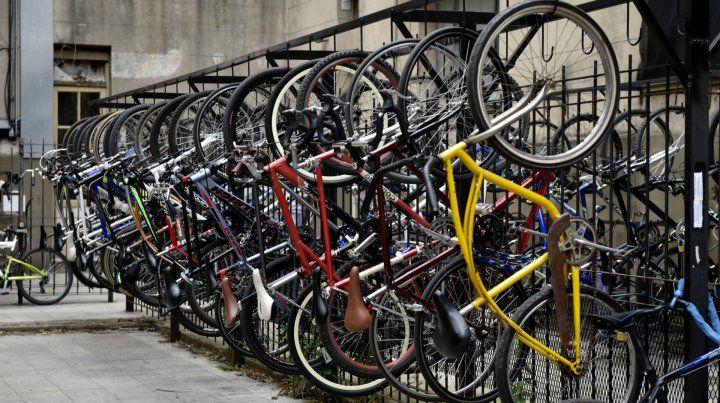 La bicicleta fue sustraída hace pocos días en la localidad de Pérez.