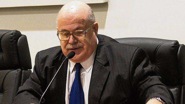 El juez. José Luis Suárez homologó el abreviado para David Aquino.