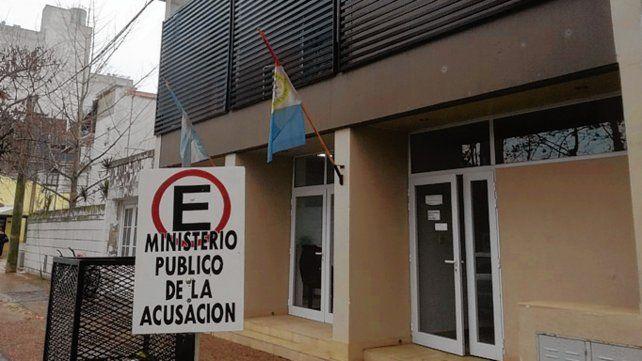 Juicio oral. En el edificio del Ministerio de la Acusación fue la sentencia.