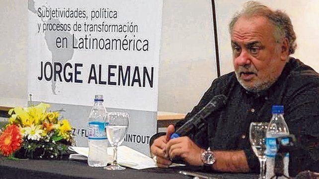 El psicoanalista Jorge Alemán disertará en Rosario en distintas actividades propuestas por la UNR.