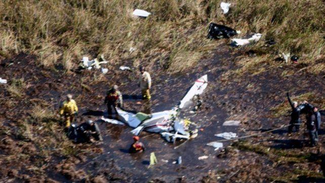La aeronave —un bimotor Barón 58 propiedad de Gneiting— cayó de noche poco después de despegar del aeropuerto de Ayolas