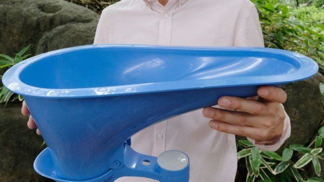 Lixil presenta un inodoro de plástico