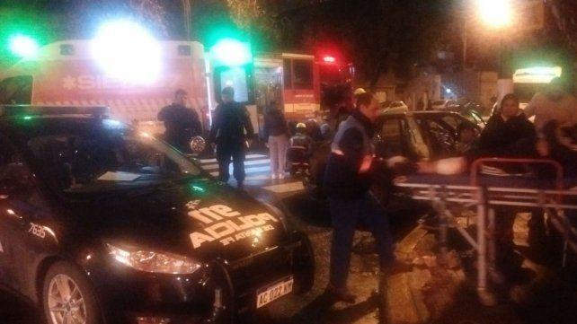 El Sies acudió al lugar para trasladar a los heridos.