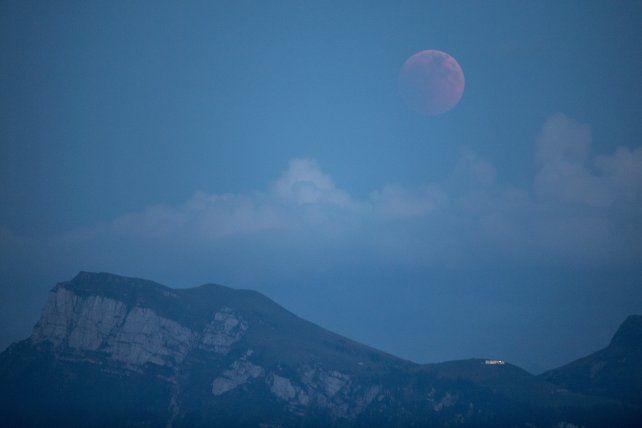 Así se vio el eclipse en Lucerna