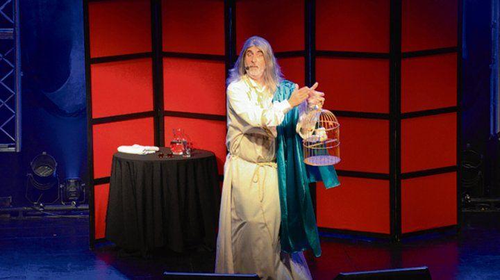 Unipersonal. El humorista se presenta hoy en el teatro La Comedia.