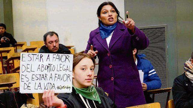 Alumna y militante. Peñalba