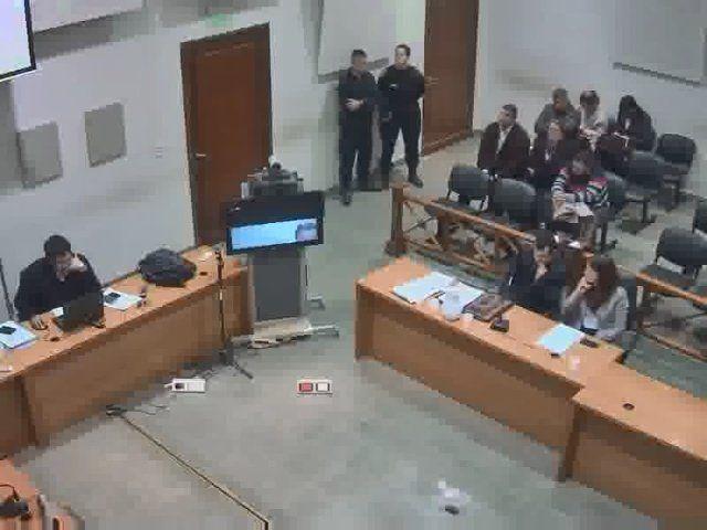 La videoconferencia para pedir volver a las cárceles de la provincia dejó un advertencia de Monchi Cantero hacia el juez. (Foto: captura de video)