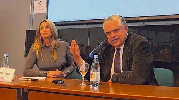 Crítico. Ricardo López Murphy habló en el Foro de Economía y Negocios de la Fundación Libertad.