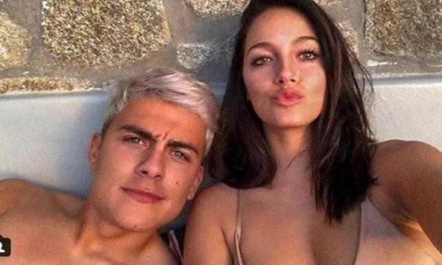 Oriana Sabatini y Paulo Dybala, pasión en Mykonos