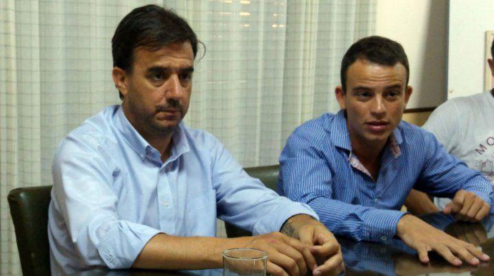Enojados. Los funcionarios Caturelli y DAnna refutaron a jefes locales.
