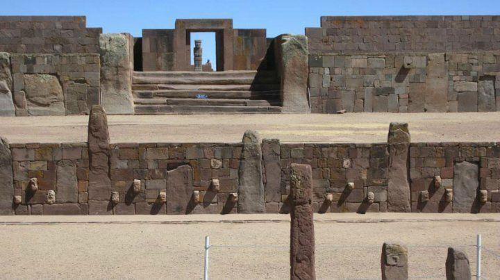 Civilización. El templo de Tiwanaku